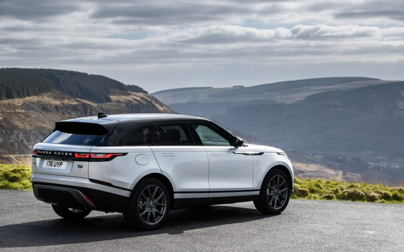 Range Rover Velar P400e PHEV arguably more futuristic and sleeker than its bigger brother.