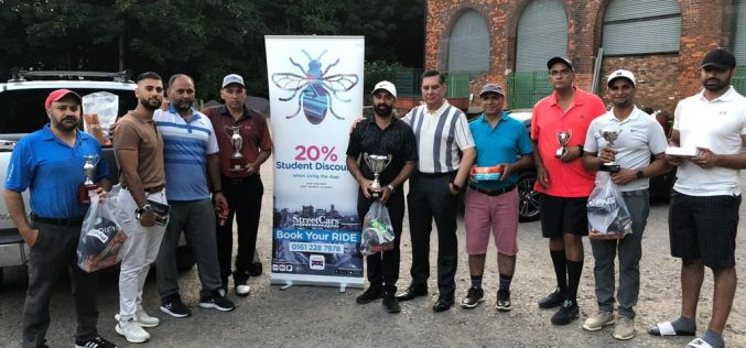 Charity Golf Open event raised over £1800 for S & J Mian Trust UK